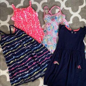 4 3T dresses Carters
